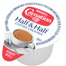 If your goal is weight loss, then your coffee creamer should not contain trans fats, artificial chemicals, excessive sugar, or fillers such as carrageenan. Carnation Half Half Liquid Creamer Singles 304 Fl Oz Nestle Carnation Nestle Professional