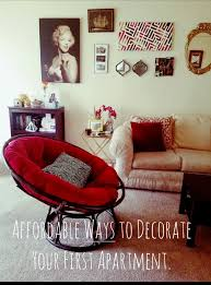 Decorating Your First Apartment Impressive Decorating Ideas