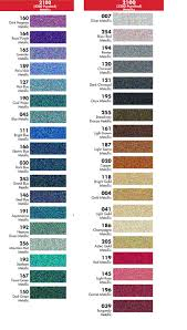 Fdc Color Chart Vinyl Decal Color Options