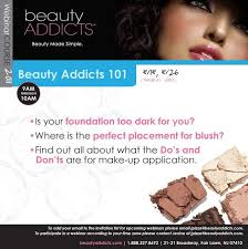 additionally it will discuss the do s and dont s on make up application and monly asked questions