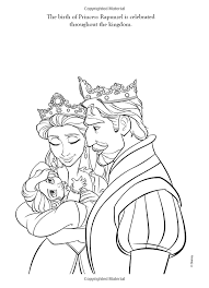 Small Picture Tangled Coloring Pages Baby Rapunzel Keanuvillecom