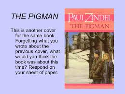 the pigman essay  essay on the pigman by paul zindel