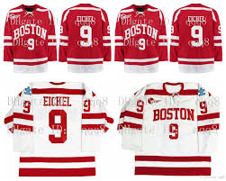 #jack eichel #buffalo sabres #nhl #hockey #this is the first and only piece of audio i've ever made #are you proud mama #please listen to the end. 2021 9 Jack Eichel Jersey Ncaa Signed Boston University Jersey 9 Jack Eichel Red White 100 Stitching Custom Hockey Jerseys From Qqq8 32 74 Dhgate Com