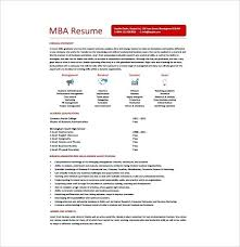 Mba Student Resume Sample Foodcity Me