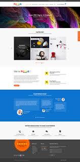 Banner In Web Design Modern Elegant Printing Wordpress Design For Focus Banners