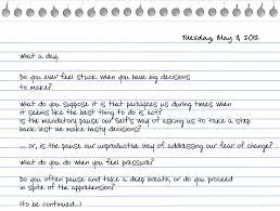 Essay Journal Entries