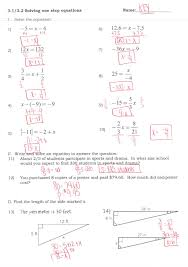 multiple step equations worksheeti and inequalities answers pre algebra practice solving