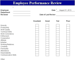 Staff Performance Appraisal Template – Akronteach.info