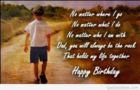 Birthday Quotes For Dad Enchanting Happy Birthday Dad Quotes Sayings