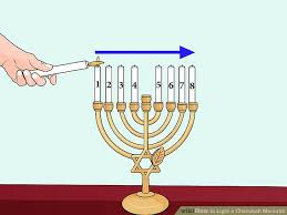 lighting the other candles image titled light a chanukah menorah step 9