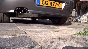 Simons exhaust BMW Z4 2004 2.5l SMG E85 - YouTube