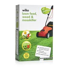 grass seeds lawn food garden gardening com lawn feed weed and moss killer 100sqm 3 5kg