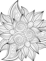 Free Coloring Pages Flowers And Butterflies L9818 Free Coloring