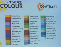 Free Your Models Contrast Paint Range In Stores June