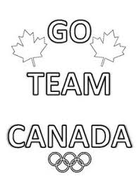 2018 winter olympics team canada colouring pages bundle 20 pages