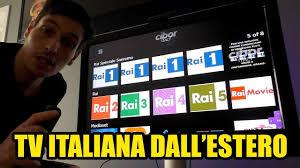 Come GUARDARE LA TV ITALIANA dall'ESTERO sul TV GRATIS ...