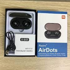 Tai nghe bluetooth Redmi AirDots 2 True Wireless bản QUỐC TẾ không dây Bass  - Treble cực đỉnh chuẩn HIFI 5.0 - Tai nghe Bluetooth nhét Tai