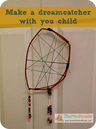 How Dream Catchers Are Made A home made dream catcher made my Mini Mum In The Madhouse 65