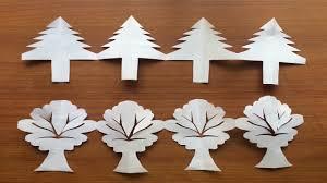 christmas decoration ideas tree border pattern form craft paper bulletin board decoration diy