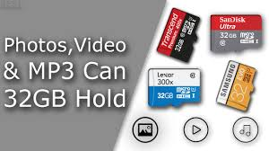 How Many Photos Videos Or Mp3 Can 32gb Hold