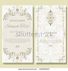 invitation card floral seamless pattern wedding stock vector Wedding Invitations Design Vector invitation card with floral pattern on background , flyer illustration concept contemporary vintage art, wedding invitations design vector free download