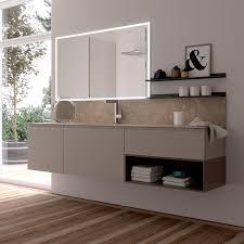 Hängender Waschtisch Unterschrank Holz Modern Schubladen