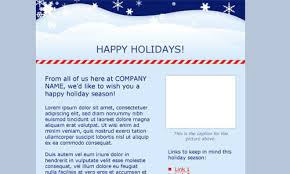Holiday Newsletter Template New Free And Premium Christmas HTML Email Newsletter Templates Designmodo