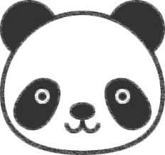 パンダのイラストの簡単な書き方 動物絵がキュートしろくまカフェ
