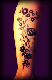 Tetování Květiny S Motýlem Tetování Tattoo