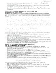Facility Manager Resume Samples Facility Manager Resume Successmaker Co