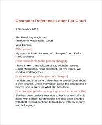 Sample Of A Character Letter Sample Letter Of Character Reference As Letters Sample Character