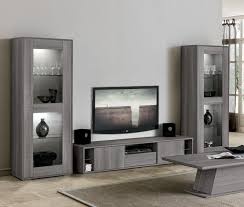 futura modern tv cabinet and display cabinets in grey saw marked oak effect finish futura modern living room