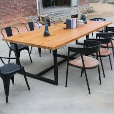 creative office desks. Juho Simple Retro Bar Creative Company Office Desk Furniture Wood Conference Table Staff Desks