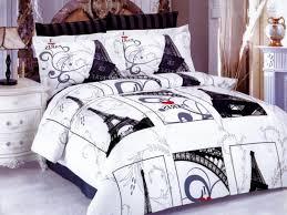 architecture unique bed set dream paris theme bedding sets for s decor with regard to