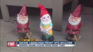 gnome liberation front hits boulder