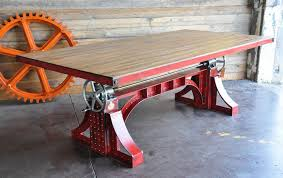 industrial furniture table. Modren Table Vintage Industrial Crank Tables Are Perfect For Classic And Modern Homes And Furniture Table T