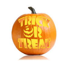 ... Trick or Treat Easy Pumpkin Carving Stencils ...