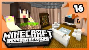 Minecraft Living Room Designs Minecraft Pe Pocket Edition Living Room Design Ep 16 Youtube