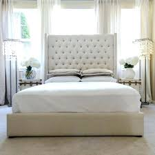 Tall Headboards For King Beds Canada How Should A Size Headboard Be Tufted.  Tall White Tufted Headboard King Extra Large Cal. High Headboard King Size  Bed ...
