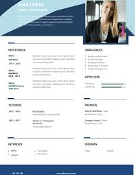 Formatos De Curriculum Vitae En Word Gratis Plantillas Para Curriculum Gratis En Formato Word