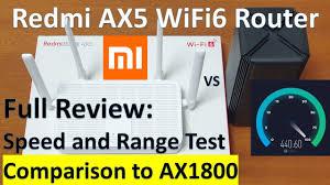 <b>Xiaomi Redmi AX5</b> Wi-Fi 6 <b>Router</b> Review, Comparison vs AX1800 ...