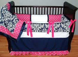 nautical baby girl crib bedding set pink and navy target for girls boy full size