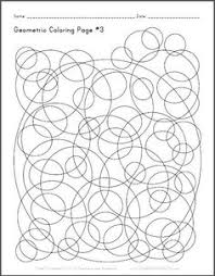 Small Picture Abstract Coloring Page 4 Free to print PDF file Curved