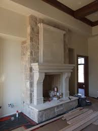 full size of living rooms best 20 cast stone fireplace ideas on fireplace doors