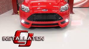 Focus St Rally Lights Focus St Fiesta St Diode Dynamics Fog Led Luxeon W Projector Housing 2013 2014 2014 16 Installation