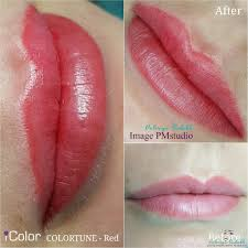 сделать татуаж губ в киеве фото до и после цены