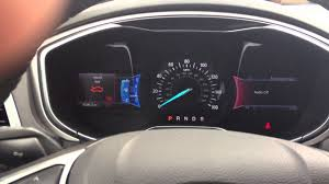 Ford Fusion Oil Light Reset 2013 Ford Fusion Oil Life Reset My Ford Touch
