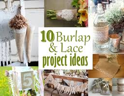 Chic Wedding Ideas Using Burlap Using Burlap To Decorate For Weddings On  Decorations With Rustic