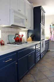 can i paint my kitchen cabinetsNavy and White Kitchen Cabinet Painting  Life Rearranged