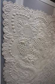 Best 25+ Whole cloth quilts ideas on Pinterest | Hand quilting ... & White Whole Cloth Quilt (from..1750-1800)France posted at Dragon Adamdwight.com
